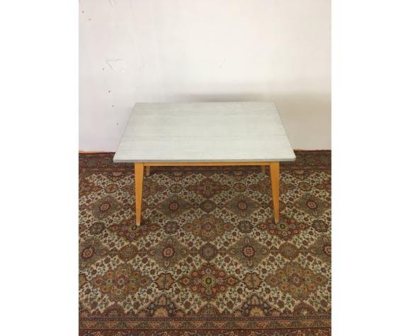 Table de réfectoire années 50