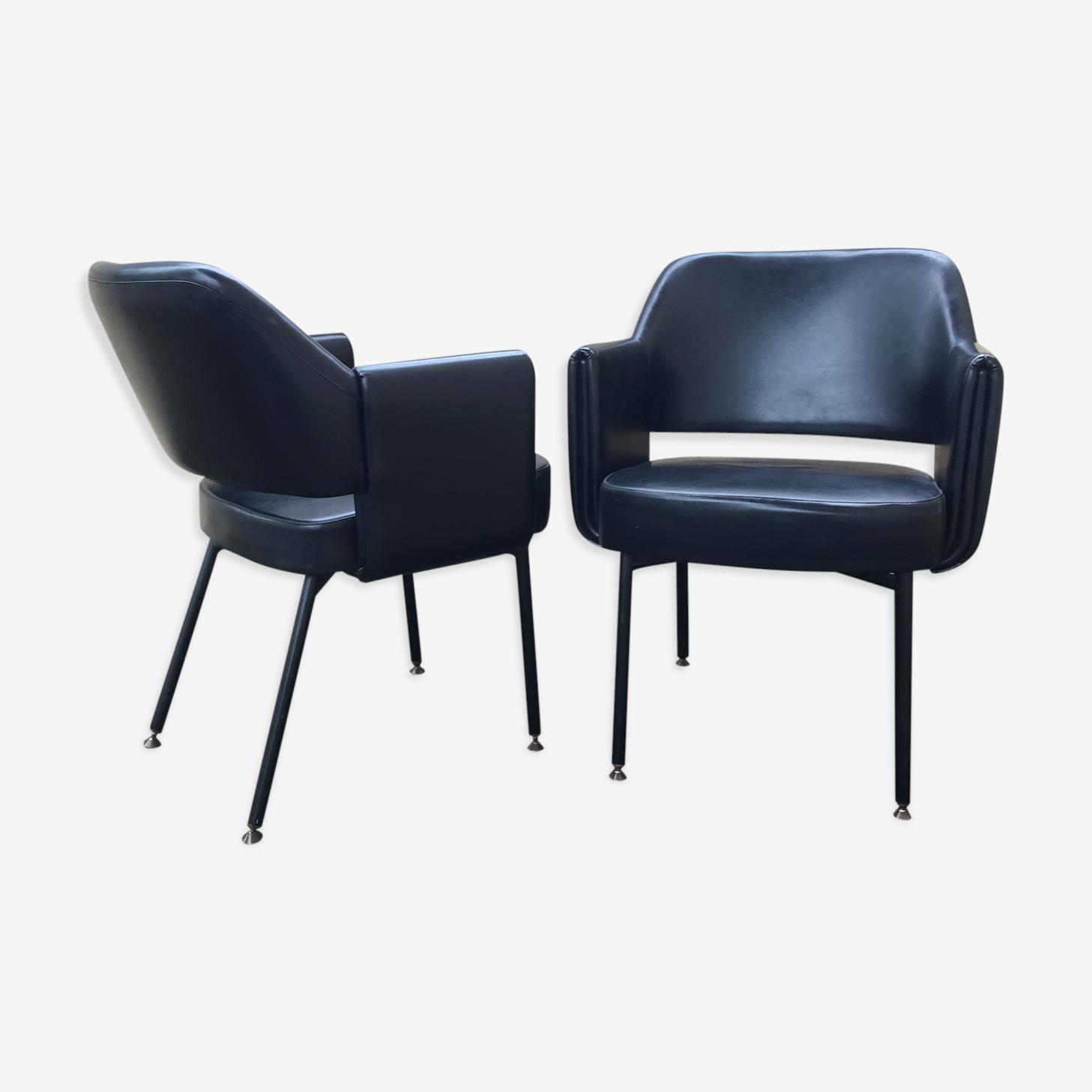 Paire de fauteuils «Deauville» pour Airborne