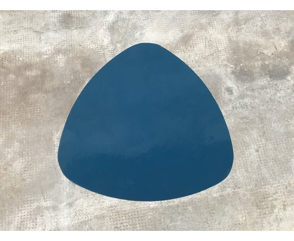 Table basse bleu France 1970