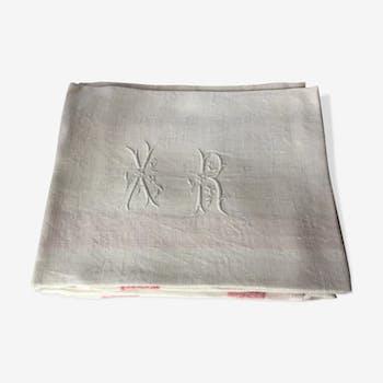 Lot de serviettes monogramées