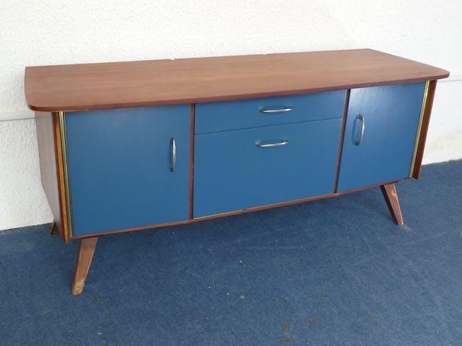 Petit meuble bas vintage des années 50