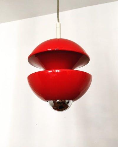 Hanging lamp by Klaus Hempel for Kaiser Leuchten 1970