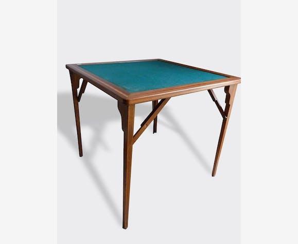Pliante Classique Jeux BoismatériauMarron 4263 Table À WEe29bDIHY