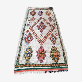 Berber handmade carpet - 280x115