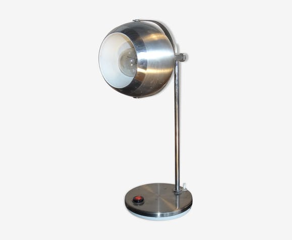 Lampe eye ball, 1970, aluminium