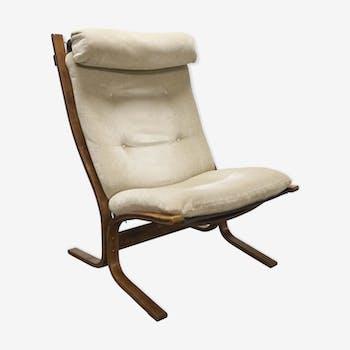 """Armchair """"siesta"""" Westnofa furniture Vestlandske beige"""