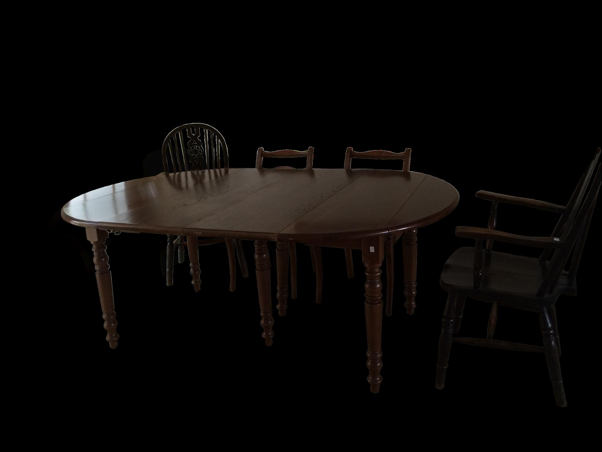 Table bois ovale avec rallonge table salle e manger design table de salle a manger design en - Grande table ovale salle a manger ...