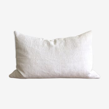 Old fabric cushion cover
