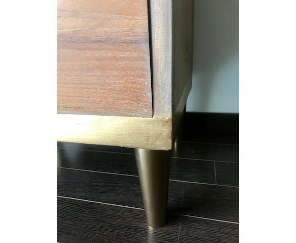 Semainier 7 étages merisier