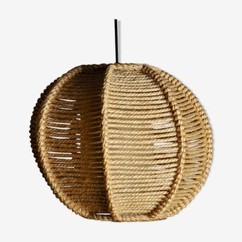 Rope hanging lamp from the 60/70