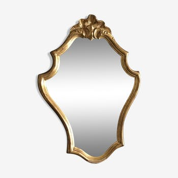 Golden mirror Louis XV
