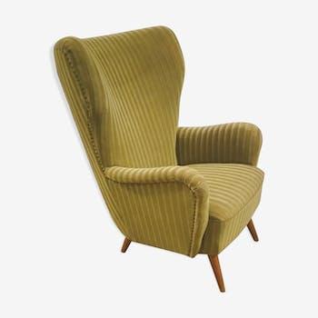 Fauteuil Danois organic wingback chairs des années 50/60 vintage