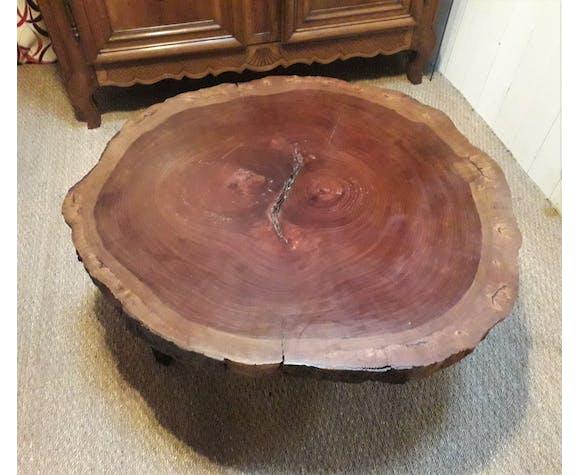 """Table basse  """" tronc d'arbre """""""
