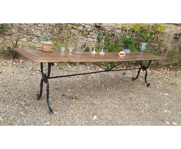 Table de bistrot 1900/1920