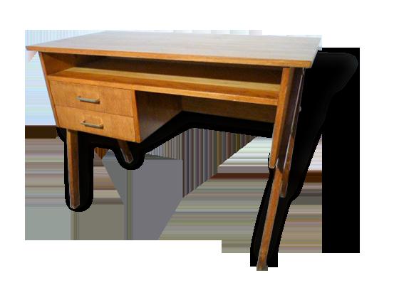 Joli bureau vintage de style scandinave datant des années