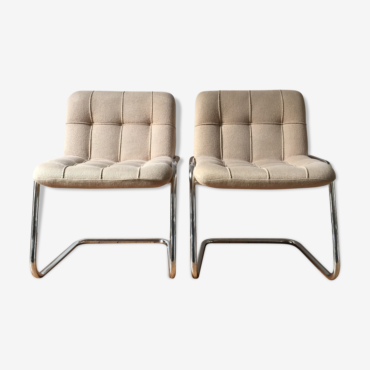 Armchairs Yves Christin for Airborne Storm, 1970