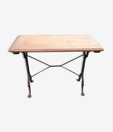 Oak bistro table