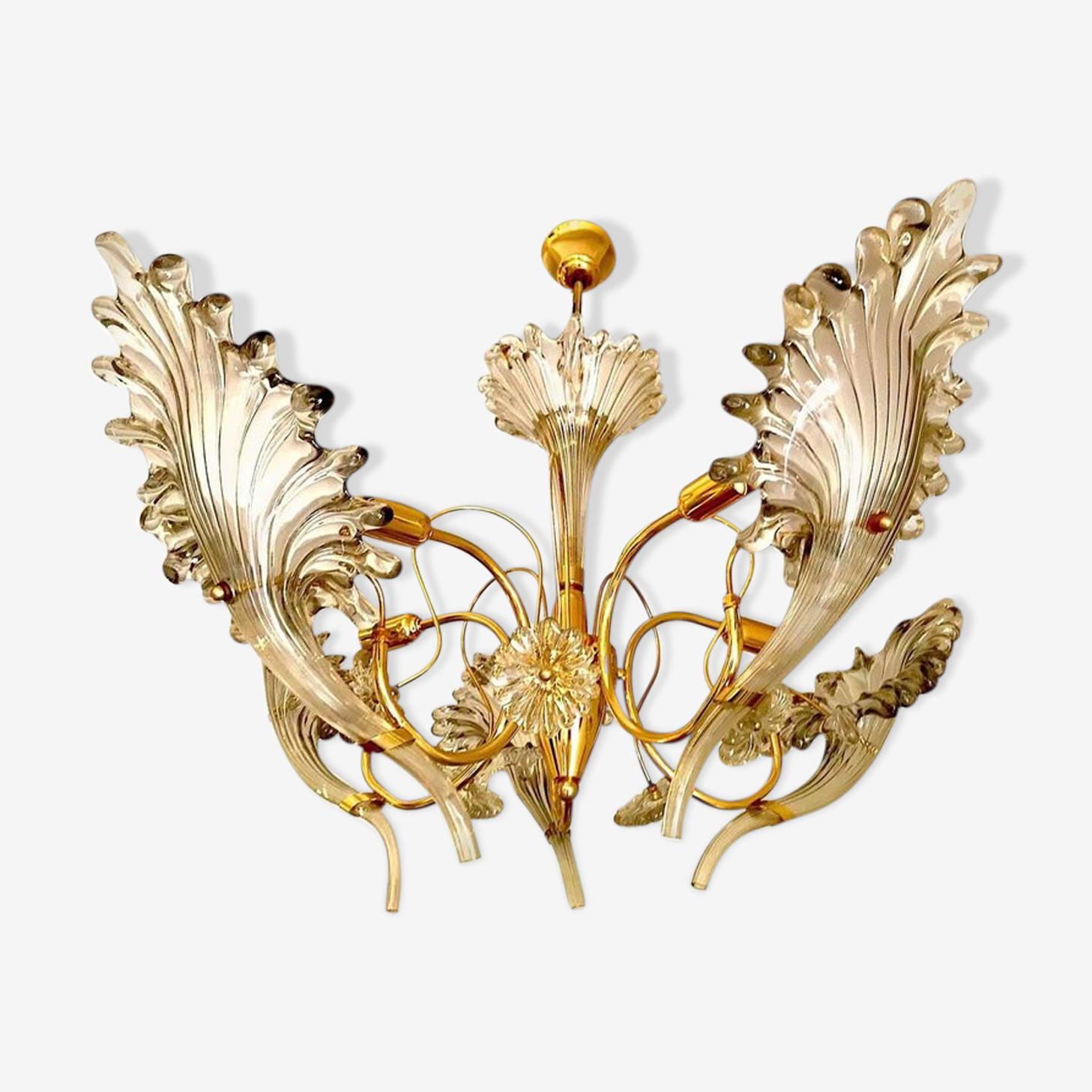 Franco chandelier Murano Luce 1960
