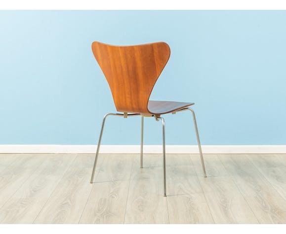 Chaise des années 1960, modèle 3107, Arne Jacobsen