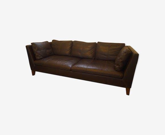 Canapé en cuir des années 80