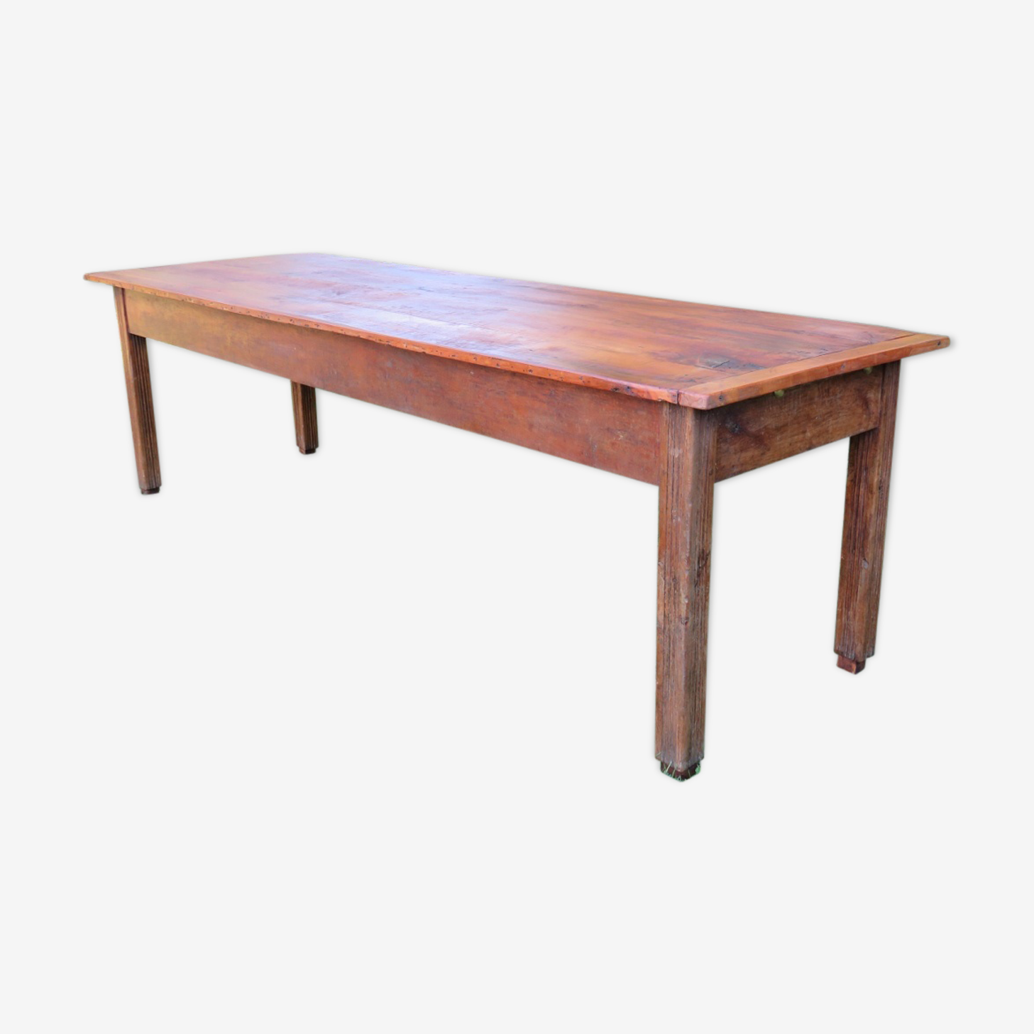 Table à manger de ferme antique