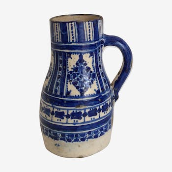 Morocco earthenware pitcher