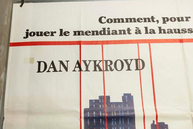 """Affiche 160x120 """"Un fauteuil pour deux"""" Dan Aykroyd - Addy Murphy 1983"""