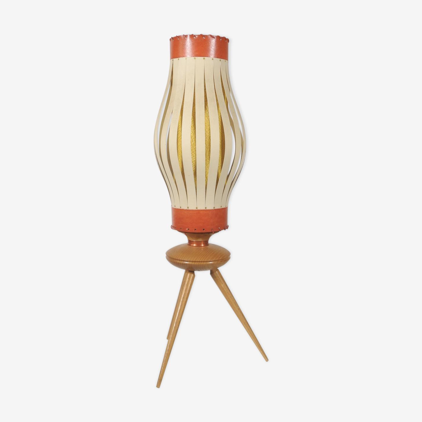 Lampe de table tripode, France 1950