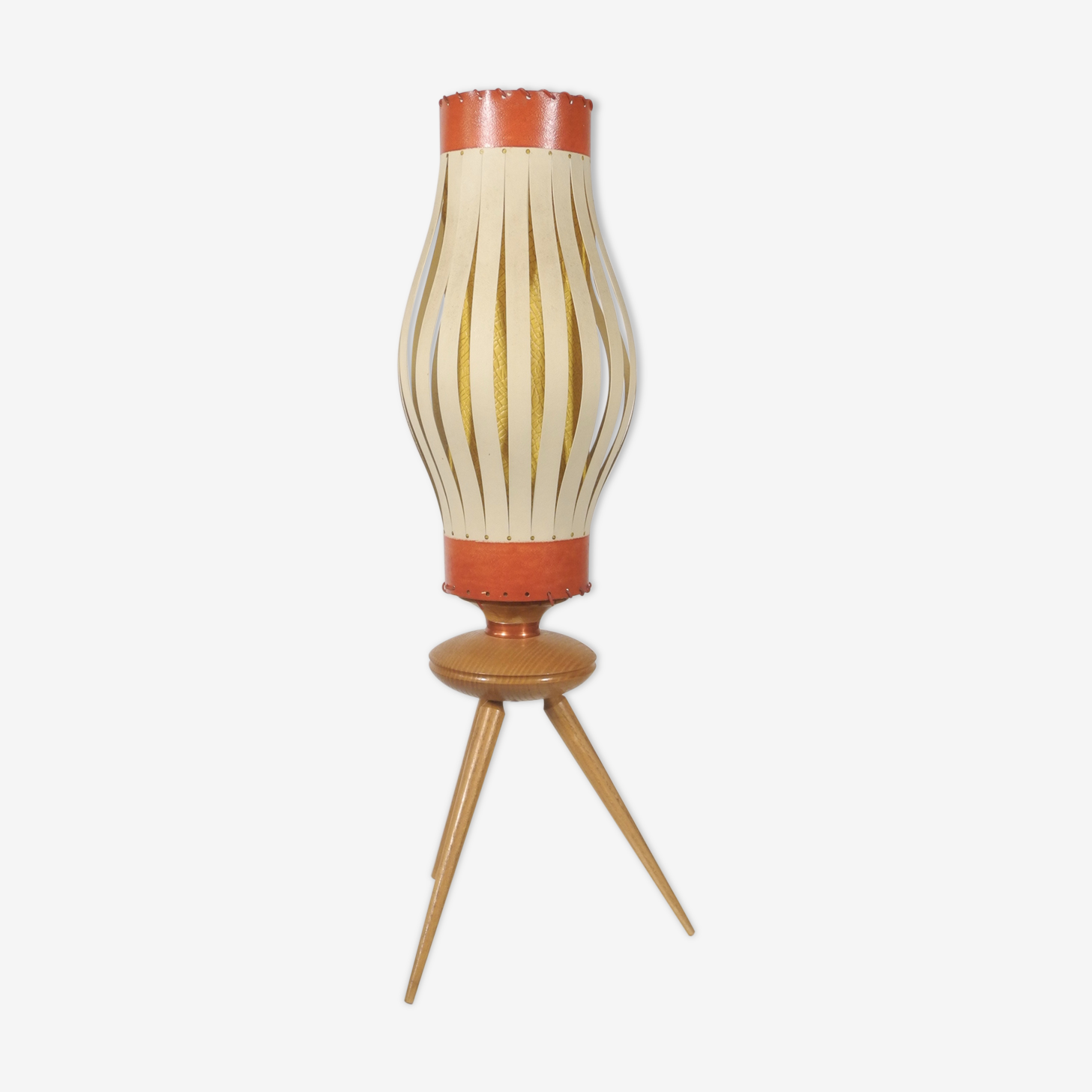 Tripod table lamp, France 1950
