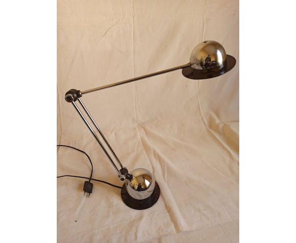 Lampe articulée chromée