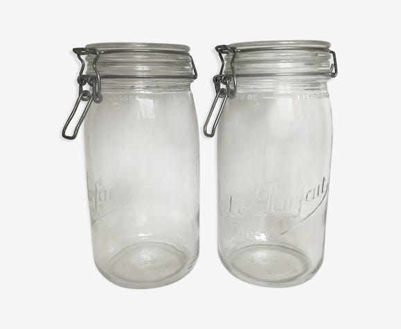 "Pair of jars ""the perfect"" 1.5 l"