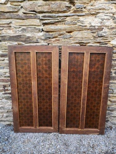 Paire de portes