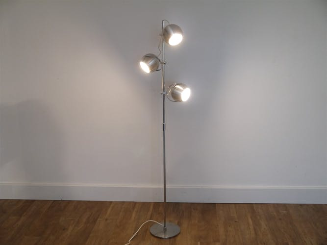 "Vintage lamppost 1970 ""eyeball"" 3 spots"