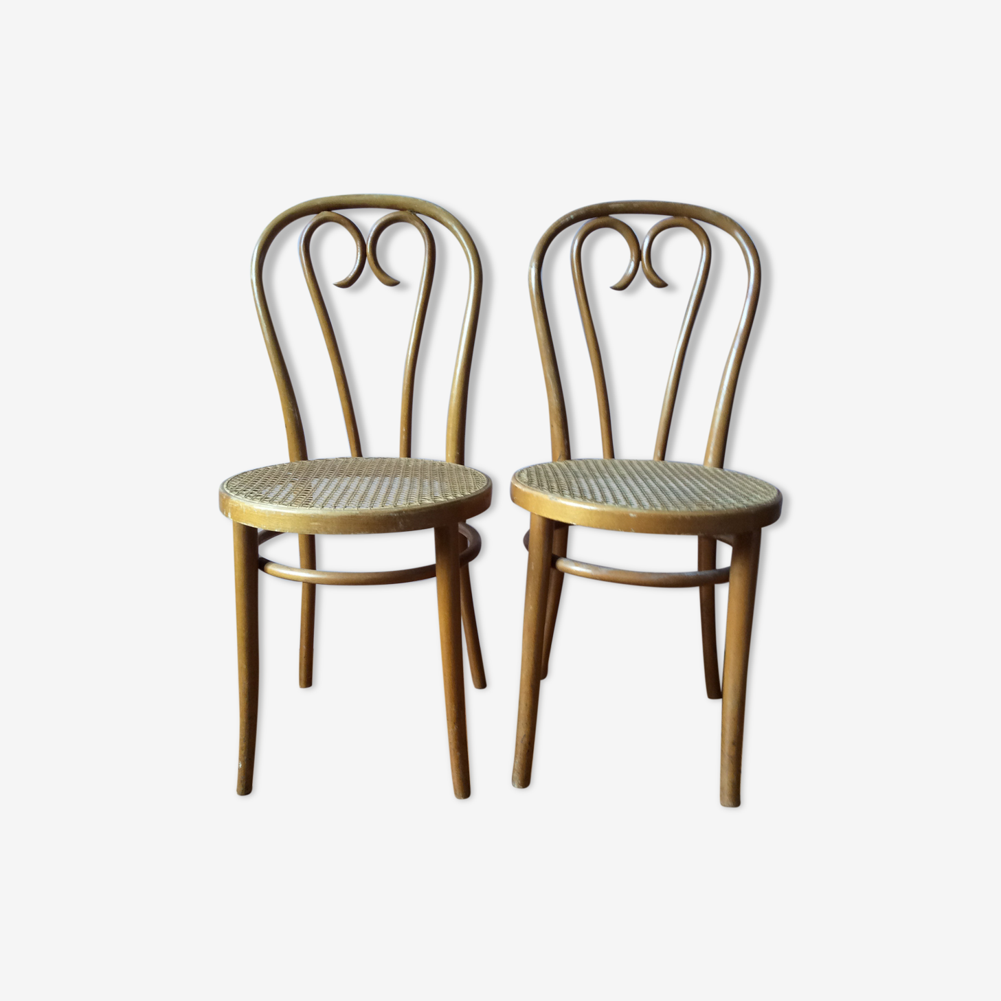 Duo de chaise bistrot