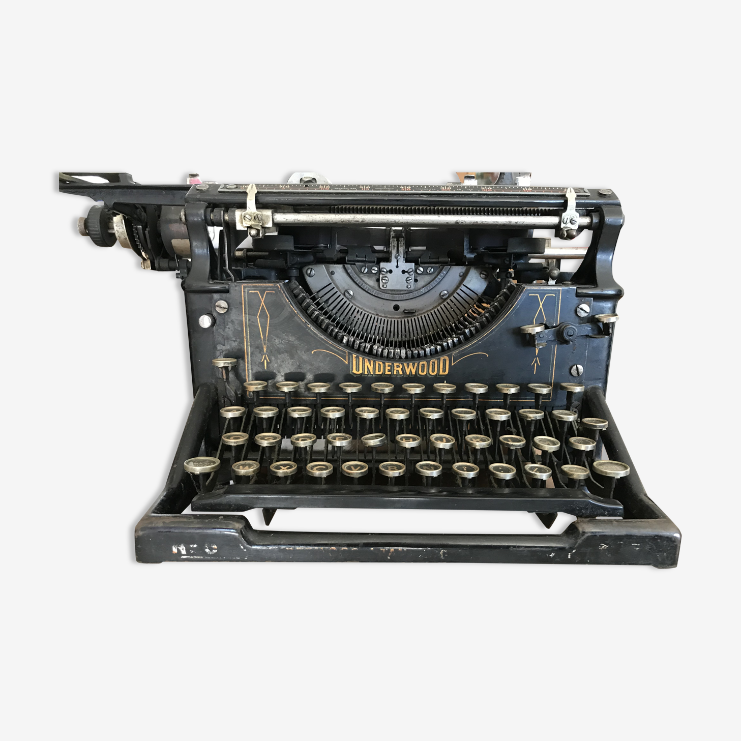 Underwood Azerty typewriter n°5, 1904