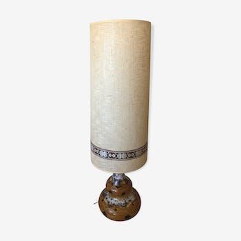 Seventies lamp in cermal