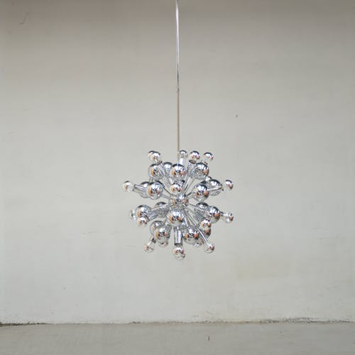 Pair of hanging Sputnik, 1970