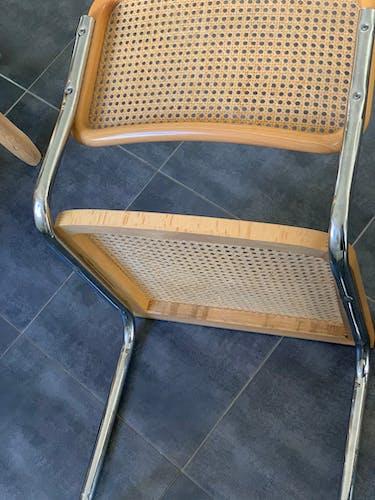 Deux chaises de Marcel Breuer B32