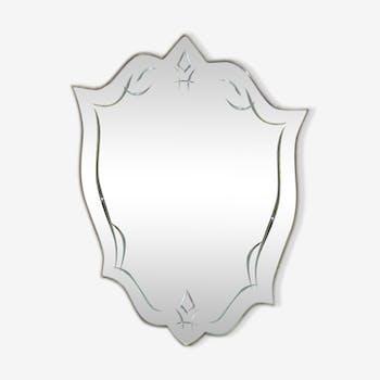 Miroir des années 20/30 47 x 72 cm
