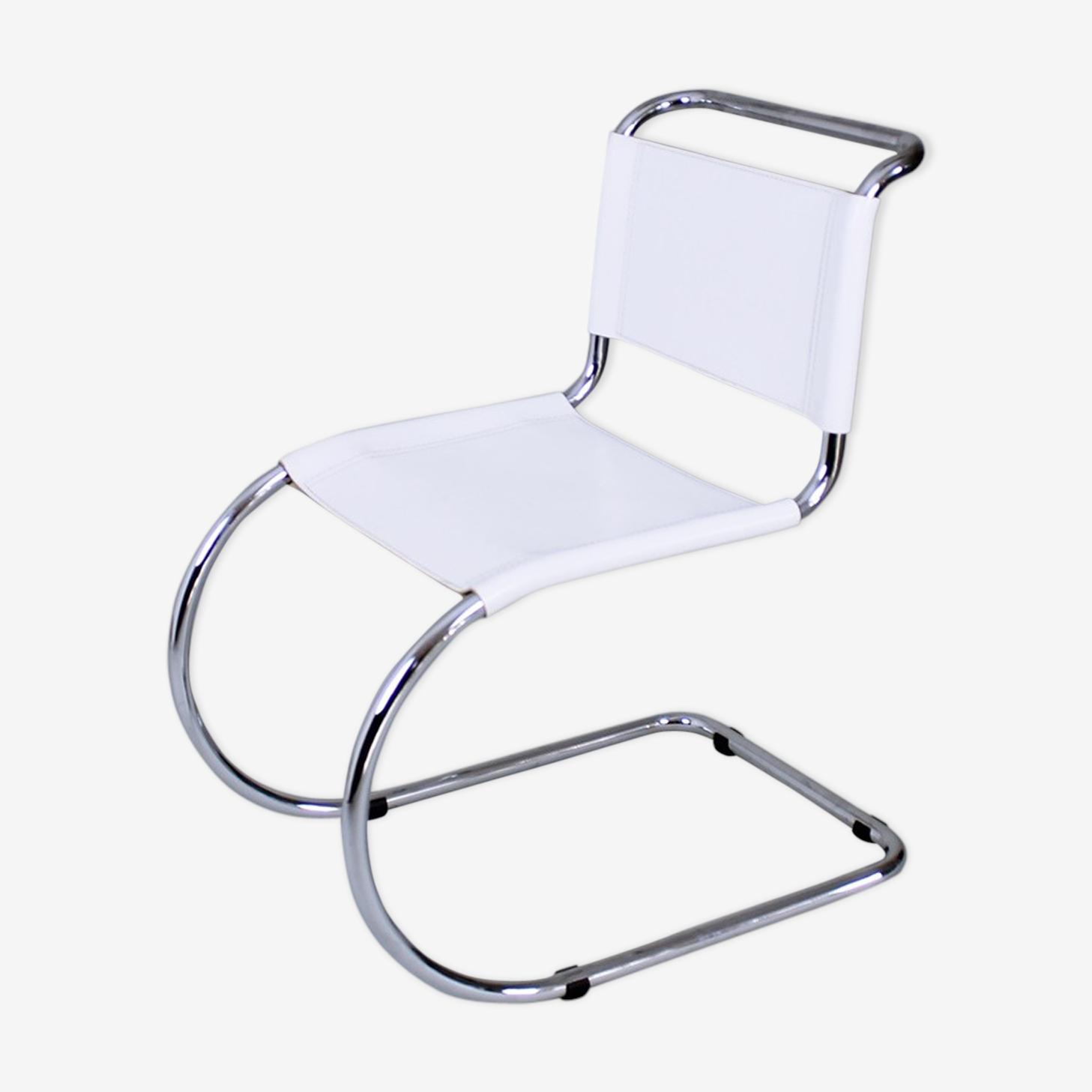 Chaise MR10 par Ludwig Mies Van Der Rohe, Allemagne 1980