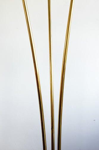 Lampadaire vintage trois tiges