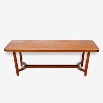 Low Vintage Scandinavian teak table