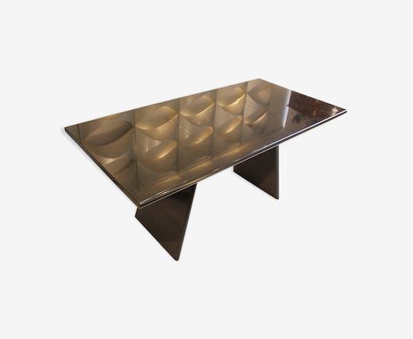 Table en marbre modèle 'Asolo' par Angelo Mangiarotti, Italie, 1981