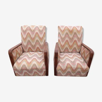 Pair of armchairs of the 40 years
