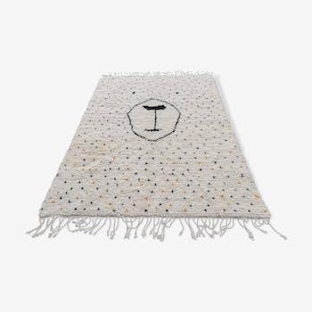 Tapis berbere en laine fait main 225x165 cm