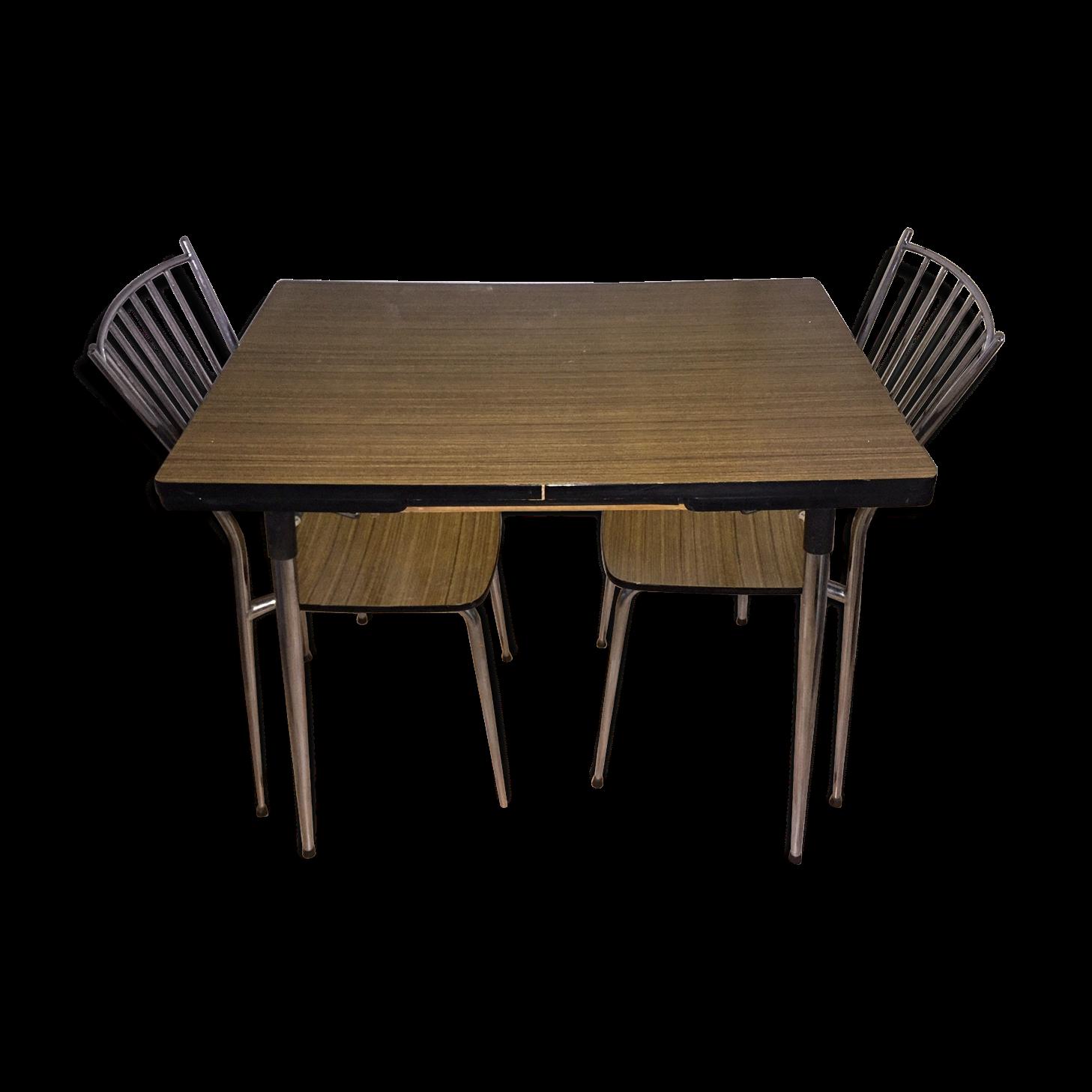 Table De Cuisine Formica Vintage Année 1965