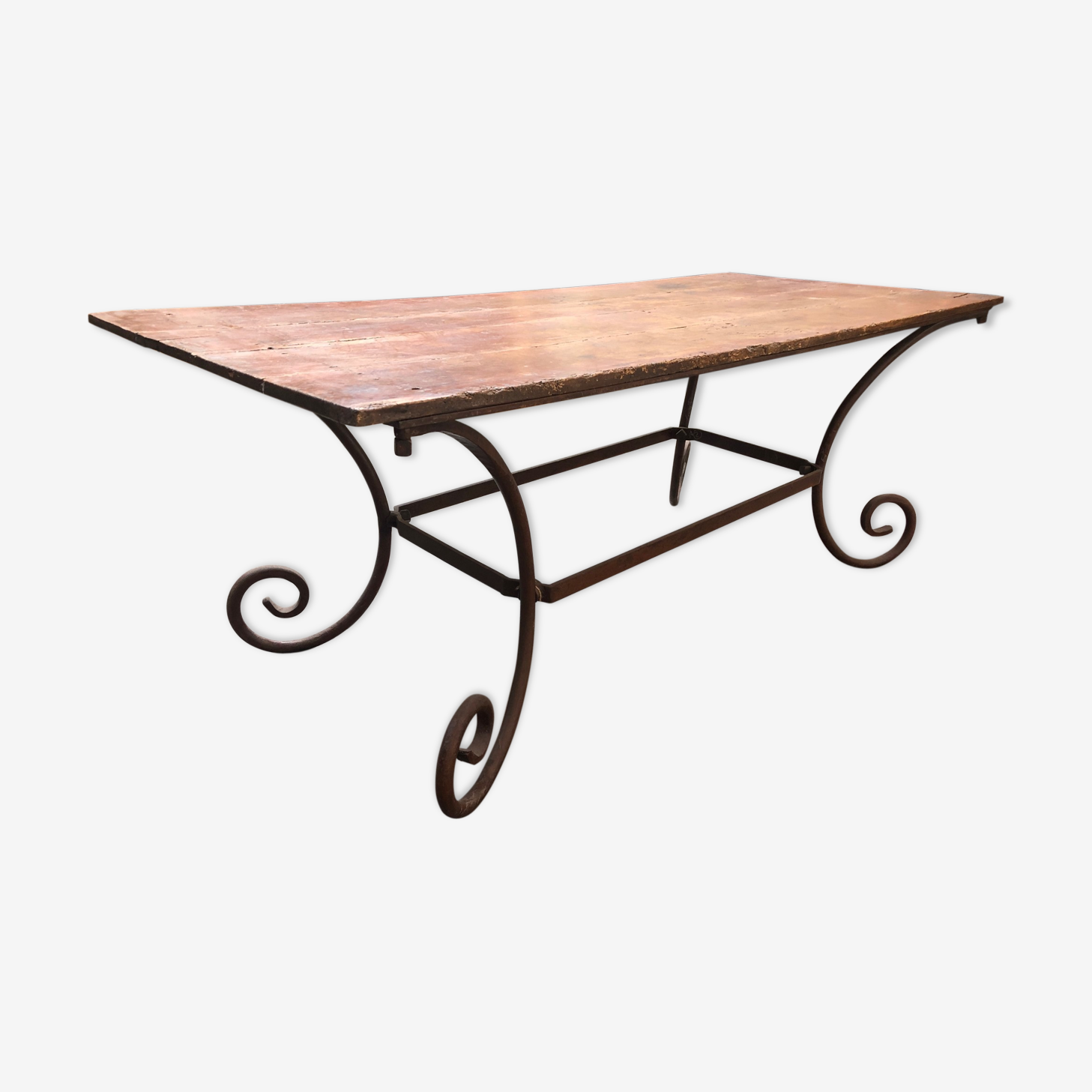 Console table metal base
