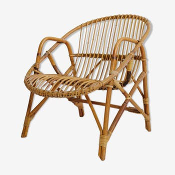 Basket chair from the 60s and 70s