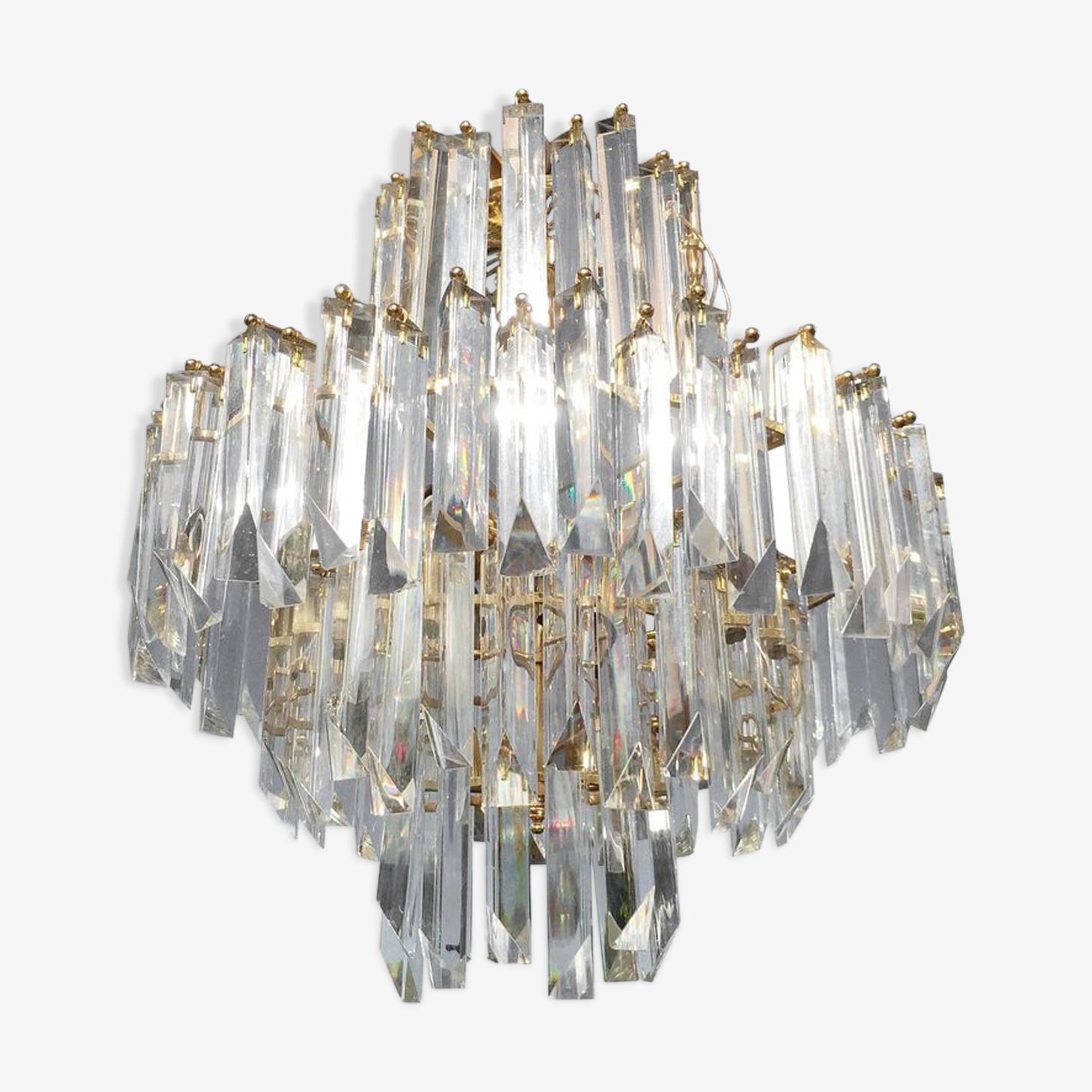 Lustre en cristal Paolo Venini 1960