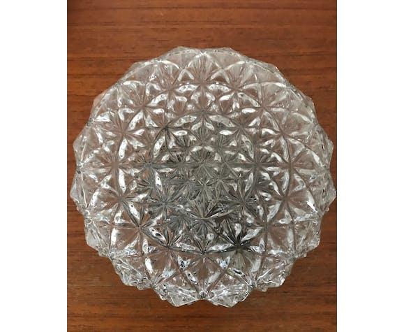 Vintage glass ceiling lamp